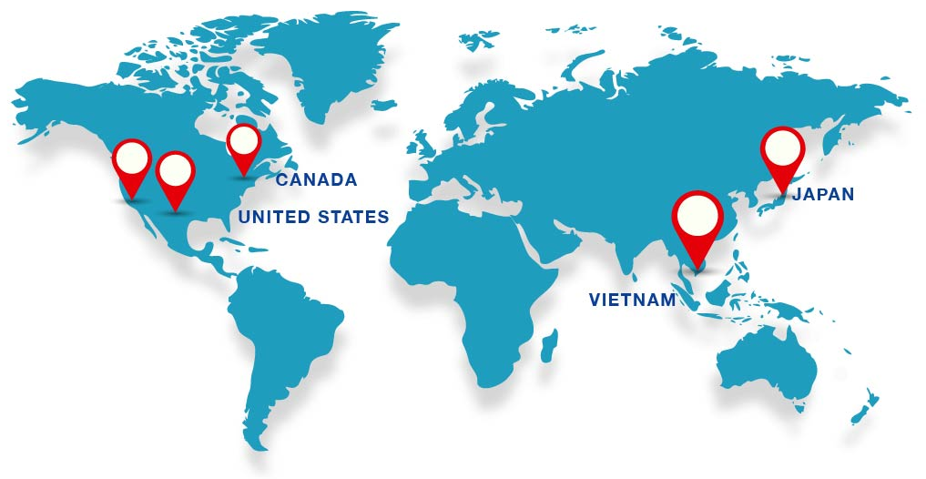 In Order To Serve Our Customers O A Cargo Curly Operates 3 Main Exporting Offices Across The United States 1 Canada Vietnam